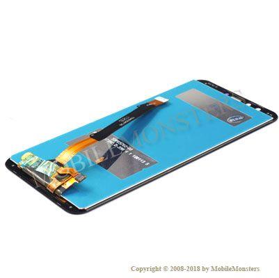 Displejs Huawei Honor 9 Lite ar Skārienjūtīgo stiklu Melns