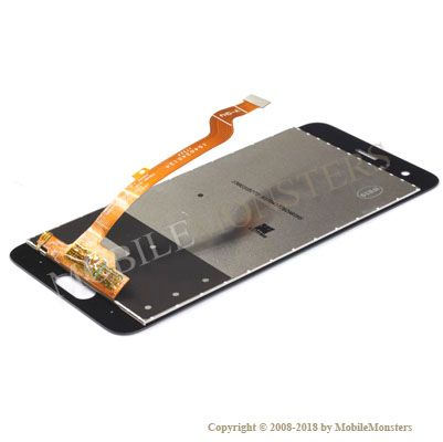 Дисплей Huawei Honor 9 с Тачскрином и Стеклом Серебрянный