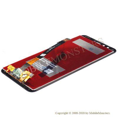 Displejs Huawei Honor 9 Lite ar Skārienjūtīgo stiklu Zils