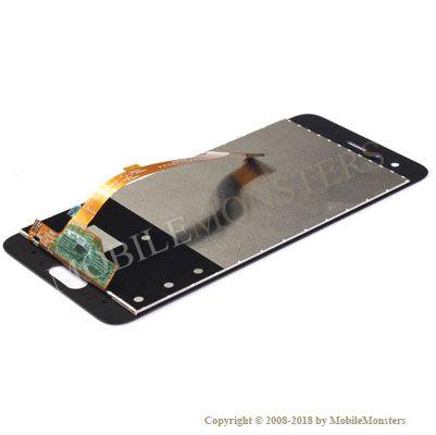 Displejs Huawei Honor 9 ar Skārienjūtīgo stiklu Zils