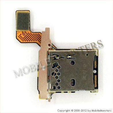 Šleife BlackBerry 9700 Memory card lasītājs