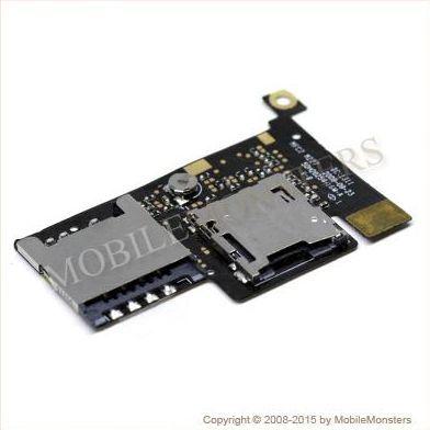 Šleife HTC Desire A8181 Sim un Memory card reader