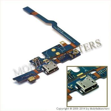 Šleife LG P760 Optimus L9  USB konnektors