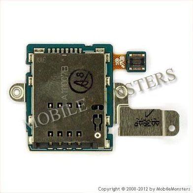 Flex Samsung P7500 Galaxy Tab 10 1 Sim card reader