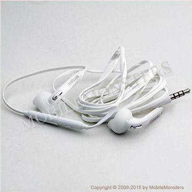 Austiņas Samsung EO-EG920BW stereo Baltas