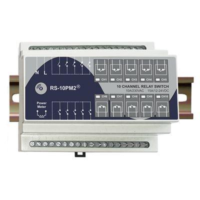 Haseman RS-10PM2 - Z-Wave, DIN sliede, 10 kanālu releja