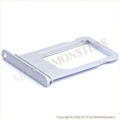 on sale 18523 5c919 Sim card holder iPhone 6s Silver