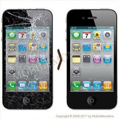 iPhone 4 Displeja un stikla maiņa