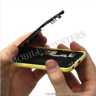 iPhone 5c (A1529) Displeja un stikla maiņa