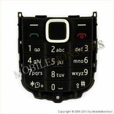 Tastatūra Nokia 1616  Melnā