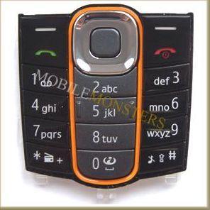Tastatūra Nokia 2600c Classic  Melnā