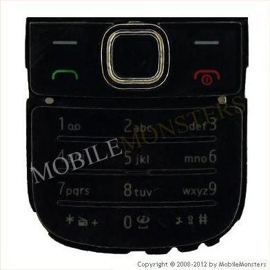 Tastatūra Nokia 2700c Classic  Melnā