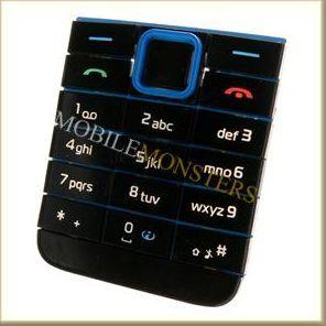 Tastatūra Nokia 3500c Classic  Zila