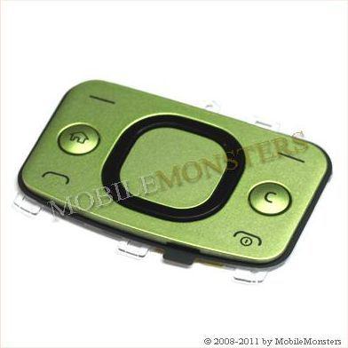 Tastatūra Nokia 6700s Slide Lime