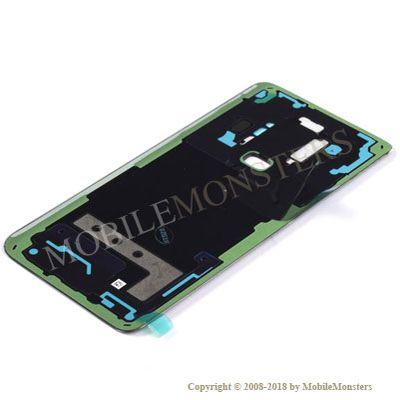 Korpuss Samsung SM-G965F Galaxy S9+ Baterijas vāciņš Melns