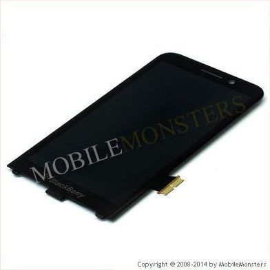 Displejs BlackBerry Z30 ar Skārienjūtīgo stiklu Melns