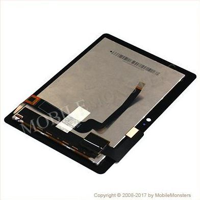 Displejs Amazon Kindle Fire HDX 7 ar Skārienjūtīgo stiklu Melns