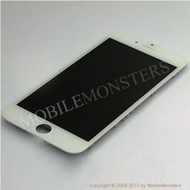 Displejs iPhone 8  ar Skārienjūtīgo stiklu un apkart ramiti *Atjaunots* Balts