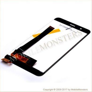 Displejs Asus Zenfone 3 Max ZC520TL ar Skārienjūtīgo stiklu Melns