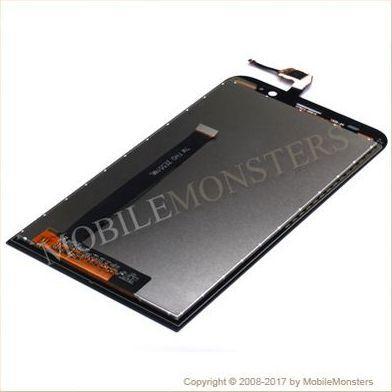 Displejs Asus Zenfone 2 ZE551ML ar Skārienjūtīgo stiklu Melns