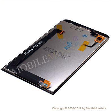 Displejs Asus Zenfone 2 Laser ZE601KL ar Skārienjūtīgo stiklu Melns