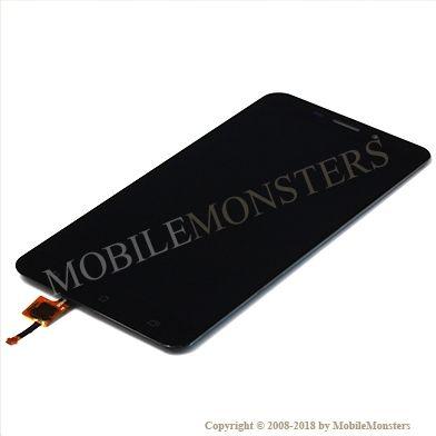 Displejs Asus Zenfone 3 Laser ZC551KL ar Skārienjūtīgo stiklu Melns