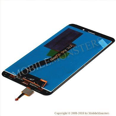 Displejs Asus Zenfone 3 Laser ZC551KL ar Skārienjūtīgo stiklu Zelts