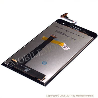 Displejs Asus ZenFone 5 ar Skārienjūtīgo stiklu Melns