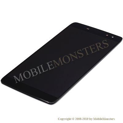 Displejs BlackBerry DTEK60 ar Skārienjūtīgo stiklu Melns