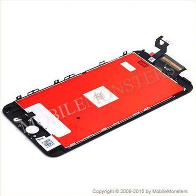 Displejs iPhone 6s Plus (A1687) Kopija HQ, ar Skārienjūtīgo stiklu un apkart ramiti Melns