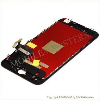 Displejs iPhone 8 ar Skārienjūtīgo stiklu un apkart ramiti *Atjaunots* Melns