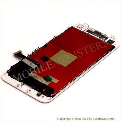 Displejs iPhone 8  Kopija HQ, ar Skārienjūtīgo stiklu un apkart ramiti Balts