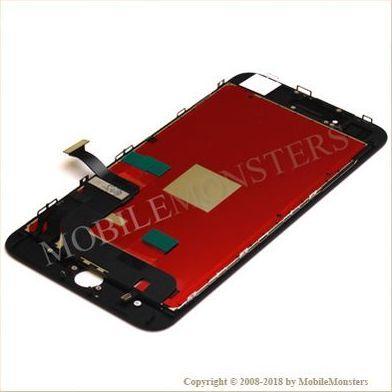 Displejs iPhone 8 Plus ar Skārienjūtīgo stiklu un apkart ramiti *Atjaunots* Melns