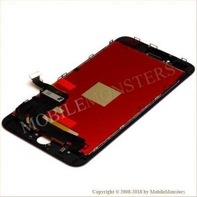 Displejs iPhone 8 Plus (A1897) Kopija HQ, ar Skārienjūtīgo stiklu un apkart ramiti Melns