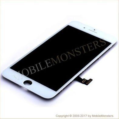 Displejs iPhone 8 Plus ar Skārienjūtīgo stiklu un apkart ramiti *Atjaunots* Balts