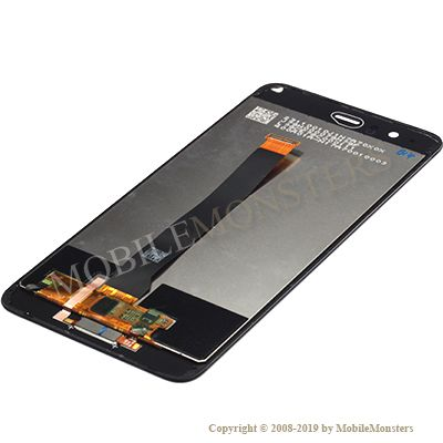 Displejs Huawei P10 Plus (VKY-L29) ar Skārienjūtīgo stiklu un apkart ramiti Melns