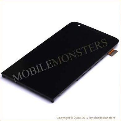 Displejs LG H840 G5 SE ar Skārienjūtīgo stiklu un apkart ramiti Melns