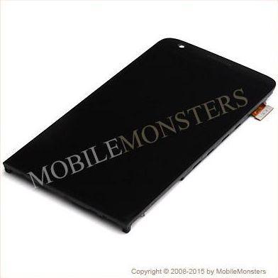 Displejs LG H850 G5 ar Skārienjūtīgo stiklu un apkart ramiti Melns