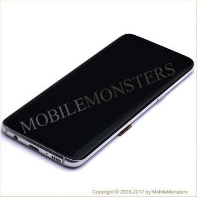 Samsung SM-G950F Galaxy S8 Displeja un stikla maiņa