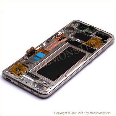 Дисплей Samsung SM-G950F Galaxy S8 с Тачскрином, стеклом и рамкой Золотой
