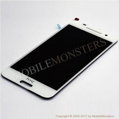 Displejs HTC One A9 ar Skārienjūtīgo stiklu Balts