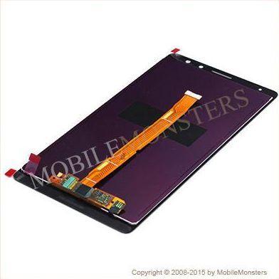 Displejs Huawei Ascend Mate 8 (NXT-L29) ar Skārienjūtīgo stiklu Zelts