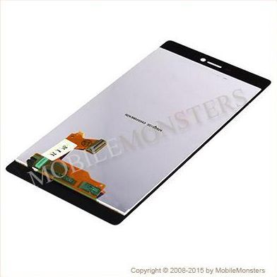 Displejs Huawei P8 (GRA-L09) ar Skārienjūtīgo stiklu Melns