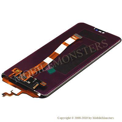 Displejs Huawei Honor 10 ar Skārienjūtīgo stiklu Melns