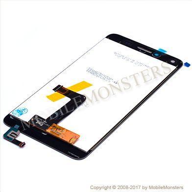 Displejs Huawei Y5 II (2) (CUN-L21) ar Skārienjūtīgo stiklu Melns