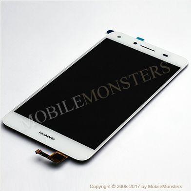Displejs Huawei Y5 II (2) (CUN-L21) ar Skārienjūtīgo stiklu Balts