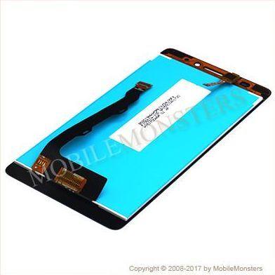 Displejs Lenovo K3 Note ar Skārienjūtīgo stiklu Melns