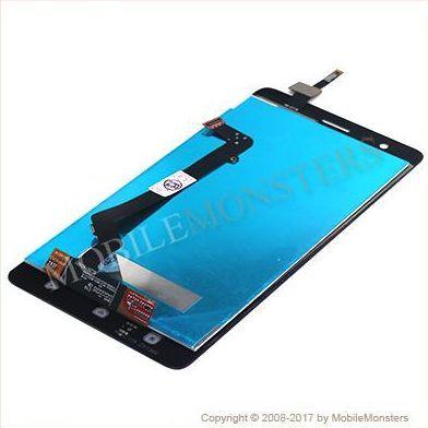 Displejs Lenovo K5 Note ar Skārienjūtīgo stiklu Zelts