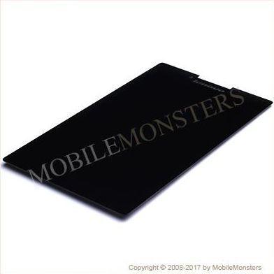 Displejs Lenovo Tab 2 A7-30 ar Skārienjūtīgo stiklu Melns