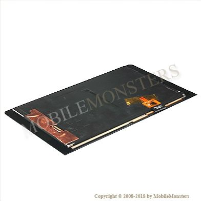 Displejs Lenovo Yoga Tab 3 8.0 ar Skārienjūtīgo stiklu Melns